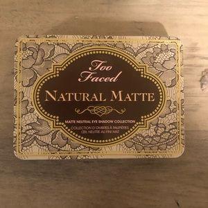 """Natural Matte"" Too Faced Palette"
